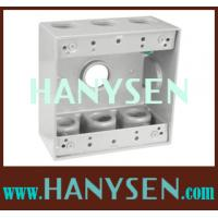 Cheap Aluminum Weatherproof Junction Box or Outlet Box for sale