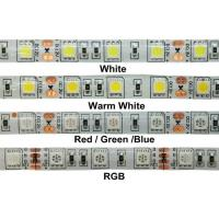 Cheap 24W 12v RGB 5050 SMD LED Strip Lights IP68 Waterproof Outdoor LED Lighting for sale