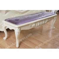Cheap Palace Style Vintage Classic Upholsted Bench Bedroom for sale