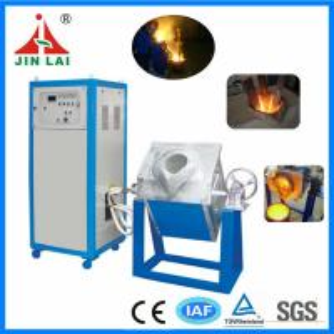 China Hot Sale Metal Melting Copper Iron Aluminum Induction Furnace (JLZ-45KW) on sale