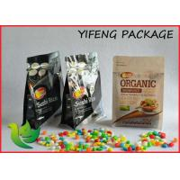 Cheap Four Side Seal Block Bottom Packaging Bag For Coffee Packaging Snack Package for sale