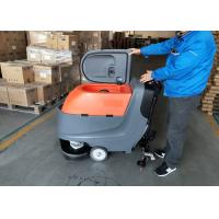 Cheap Hand Push Automatic Walk Behind Floor Scrubber Not Cleaning Robot for sale