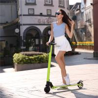 Cheap 23KM / H Hoverboard Electric Scooter / Folding Electric Scoooter With 20-25 Km Max Distance for sale
