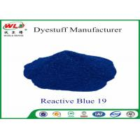 Cheap High Stability Fabric Reactive Dyes Reactive Brill Blue KN-R C I Blue 19 for sale