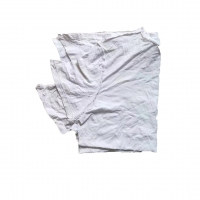 Cheap ISO Certified 100% Cotton 40kg/Bale Tee Shirt Rags for sale