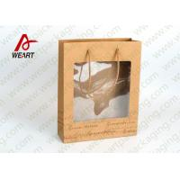 Cheap Transparent PVC Eco Friendly Promotional Paper Bags Advertising Use for sale