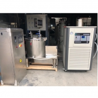 Cheap Solvent Extraction Cannabidiol Plant Oil Vacuum Liquid Ethanol Extractor Oil Centrifuge Separator for sale