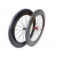 Cheap 700C Chinese Carbon Road Bike Wheels 88MM With Straight Pull Powerway R36 Hub for sale