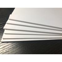 Cheap Outdoor White PVC Extruded Foam Board High Impact Anti - Corrosion ISO9001 for sale