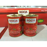 Cheap FDA,GMP,HACCP,IFS,ISO,KOSHER,QS Certification and Pasty Form  brix 28-30% canned tomato paste 400g for sale