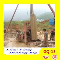 Cheap China Hot Sale Multi-functon GQ-15 Big-pile Hole Drilling Rig With 1500 mm *50 m Depth for sale