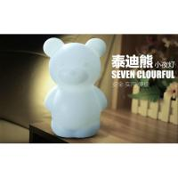 Cheap TPE Battery Operated Childrens Novelty Night Lights EMC Approved for sale
