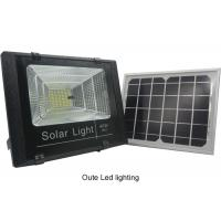 Cheap High Power Motion Sensor Solar LED Flood Lights With On Off Switch Custom Made for sale