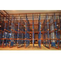 Cheap Customized Forklift Drive In Racking System Warehouse Storage Logistic Equipment for sale