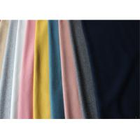 Cheap ISO9001 Lightweight Melton Wool Fabric In Stock 60% Wool 580 Gram Per Meter for sale