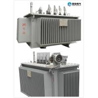 Cheap 6.6 KV - 250 KVA Oil Immersed Transformer Oil Cooled Transformers Safety for sale
