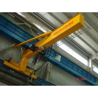 Cheap Compacted Frame Wall Traveling Truck Jib Cranes For Fitting & Fabrication Workstation for sale