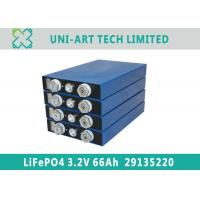 Buy cheap hot sale 3.2V 66Ah high capacity LiFePO4 battery for solar storage from wholesalers