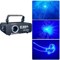 Cheap Single color 1W blue with SD card animation laser light programmable animation laser light for sale