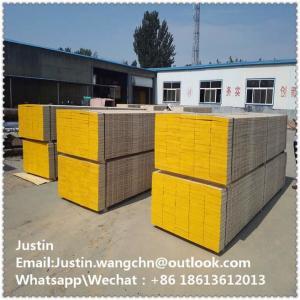 China OSHA pine Laminated Scaffolding Planks\boards 38X225X3900MM  wooden scaffold planks\boards in dubai uae market on sale