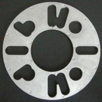 Cheap Wheel Disc Spacer with 5mm Thickness, 152mm Outer and 65mm Inner Diameter for sale