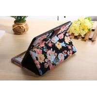 Cheap Flower Leather Case For Ipad Air Tablet With Card Slots Protective Case for sale