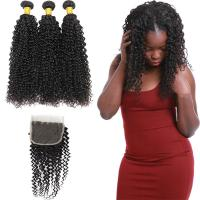 Cheap 8A Real Peruvian Human Hair Extensions Kinky Curly , Peruvian Silky Straight Hair for sale