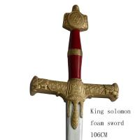 Buy cheap foam king solomon sword larp toy sword 95C093 from wholesalers