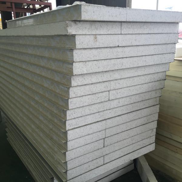 Fireproof Metal Panels : Lightweight insulated sandwich panels fireproof