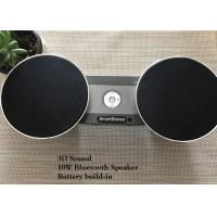 Cheap Metal Stereo Waterproof Bluetooth Speaker With Audio Output Remote Control for sale