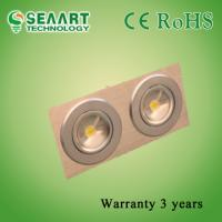 China AC90-260V Two Heads 10W LED Ceiling Lamp / Induction LED Ceilling Light on sale