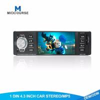 Cheap Hd 1 Din Android Head Unit Fixed Panel Car USB Radio  With BT FM AUX SD Stereo for sale