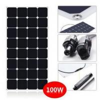 Cheap SunPower Flexible 100 Watt Solar Panel Kit For RV With CE ROHS Certificated for sale