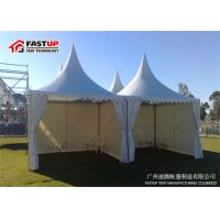 Temporary Canopy Gazebo Party Tent , Heavy Duty Canopy Tent With Sides