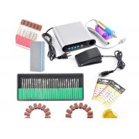 China Manicure And Pedicure Metal Electric Nail File Drill Machine 25000 RPM Ultra Thin on sale