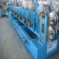 Cheap Z Purlin Roll Forming Machine with Cr Bearing Steel 16 Groups Roller Station for sale