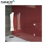Cheap Wall Board Glass Painted Glass With FENZI Paint for sale