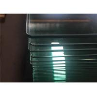 Cheap Bend / Curved Tempered Safety Glass For Curtain Wall , Toughened Safety Glass for sale