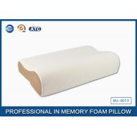Cheap High Density Slow Recovery Cervical Memory Foam Contour Pillow With Soft Cover for sale