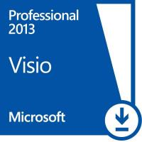 Cheap Microsoft Visio Professional 2013 License , Powerful Diagramming Platform Visio License Key for sale