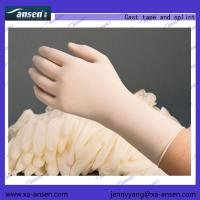 Cheap Examination Gloves Latex  sterile,powder free, Textured(XS,S,M,L) 53.5*26*34cm for sale