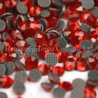 Cheap ss20 siam color MC stone hot fix crystal stone for clothing for sale