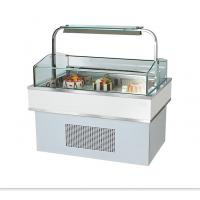 Cheap Sandwich Refrigerated Cake Display Case Square Shape Glass Cake Cabinet for sale