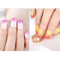 Buy cheap Multi Color MSDS GMP Mood Changing Gel Nail Polish Environment - Friendly from wholesalers