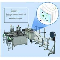 Cheap 220V Face Mask Production Line , Disposable Face Mask Manufacturing Machine for sale