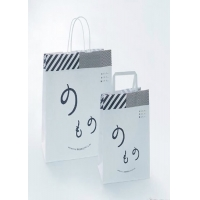 Cheap Waterproof 20*11*22cm Craft Paper Shopping Bags for sale
