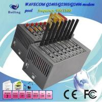 Buy cheap 8 ports GPRS GSM modem pool for bulk sms mc55i from wholesalers