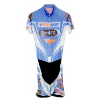 Cheap Moisture Wicking Road Cycling Clothing , Anti - Chlorine Cool Cycling Kits for sale