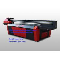 Buy cheap CE Flatbed UV printer Wide Format 2500 x 1300 mm With Ricoh GEN5 Print Head from wholesalers