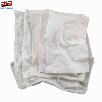 Cheap General Cleaning White 35*55cm 10kg/Bale Clothing Rags for sale